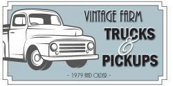 Vintage Trucks and Pickups